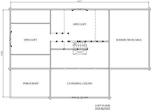 Log Home Plan #01892