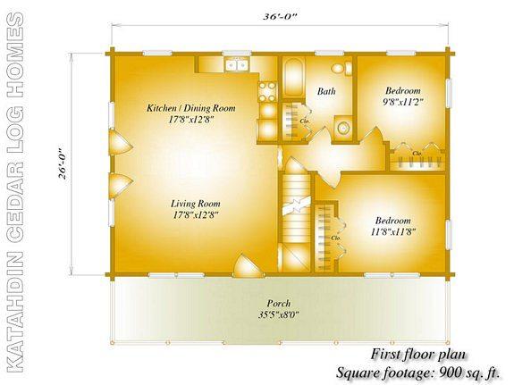 Ozark Katahdin Cedar Log Homes Floor Plans – Cedar Log Home Floor Plans