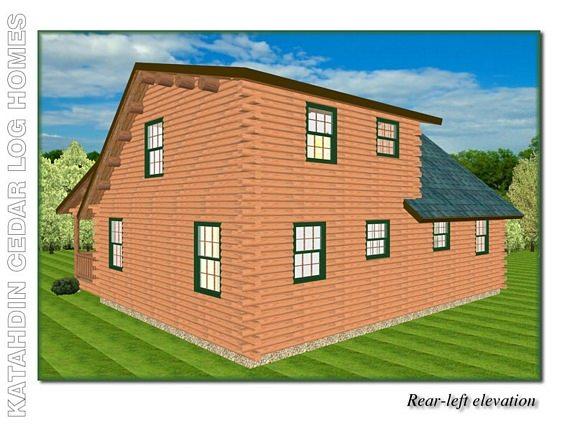 Ozark Katahdin Cedar Log Homes Floor Plans