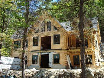 log home builder dealer options