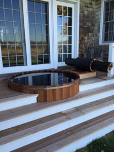 Maine cedar tubs hamptons