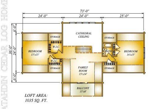 Nafziger-Gillespie Loft Plan