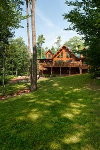 Katahdin log home energy efficiency
