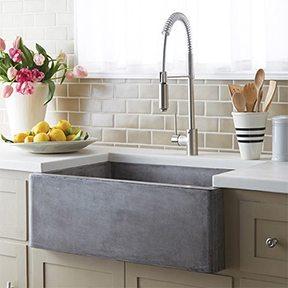 Pre-Rinse Kitchen Faucets are Hot! - Katahdin Cedar Log Homes