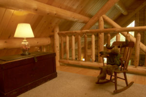 katahdin cedar log home lofts