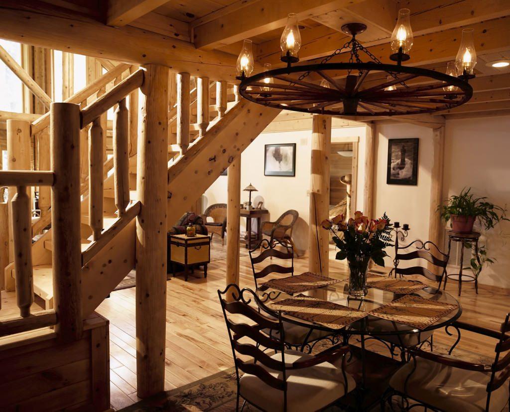 Dining Room Archives - Katahdin Cedar Log Homes
