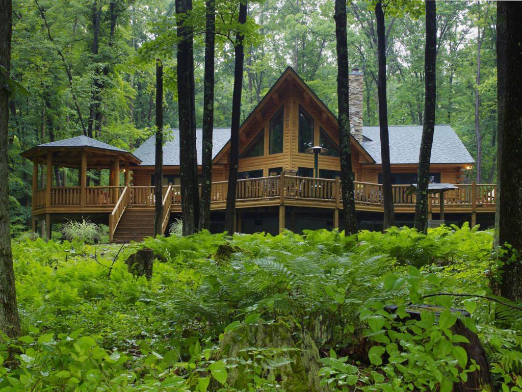 Plantation 02020 Katahdin Cedar Log Homes