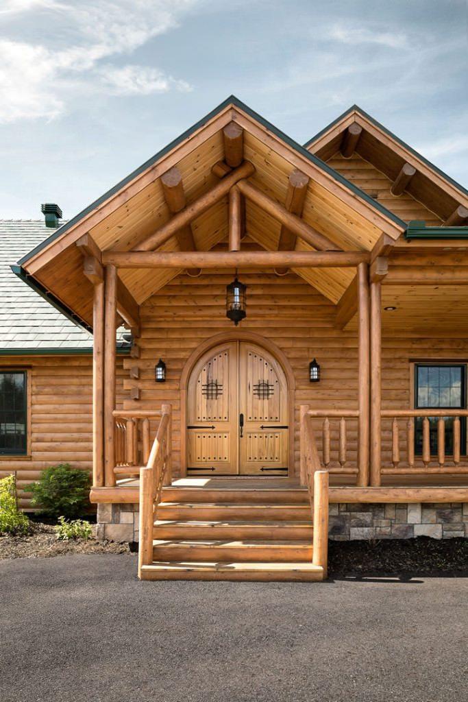 Northwoods lodge  katahdin cedar log homes