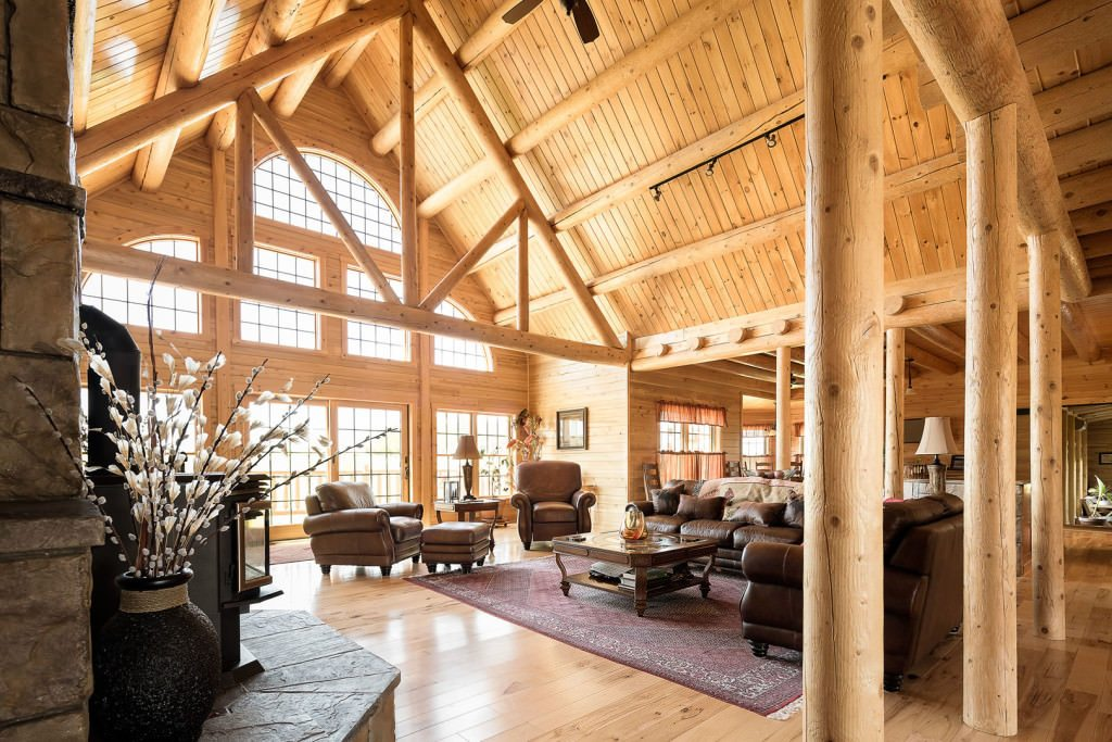 Northwoods Lodge 08909 Katahdin Cedar Log Homes