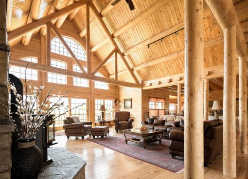 Northwoods Lodge Plan #08909