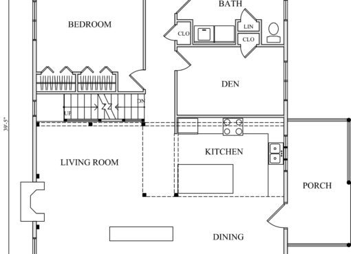 Log Home Plan #01848