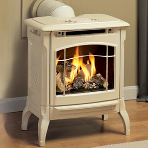 Wood gas and pellet stoves new alternatives katahdin for Alternative fireplaces