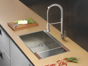 Everyone Is Talking About The New Workstation Sinks That Have Taken Kitchen  Design By Storm! These Sinks Are Fashioned To Hold Cutting Boards,  Colanders, ...