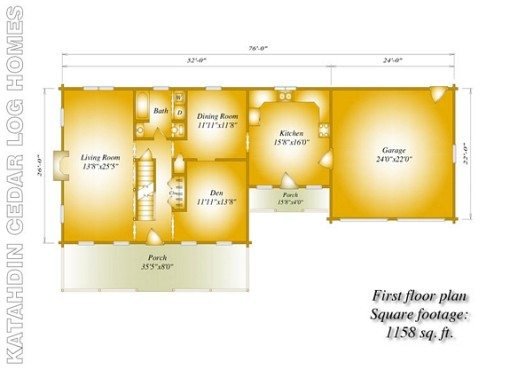 Sherwood-FirstFloorPlan