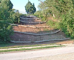 Green Tip On Site Erosion Control Katahdin Cedar Log Homes