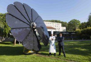 Green Tip: Solar Smartflower POP - Katahdin Cedar Log Homes