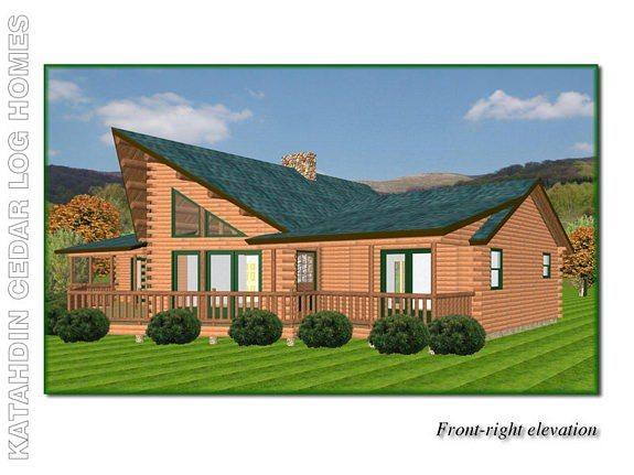 Summit Katahdin Cedar Log Homes Floor Plans
