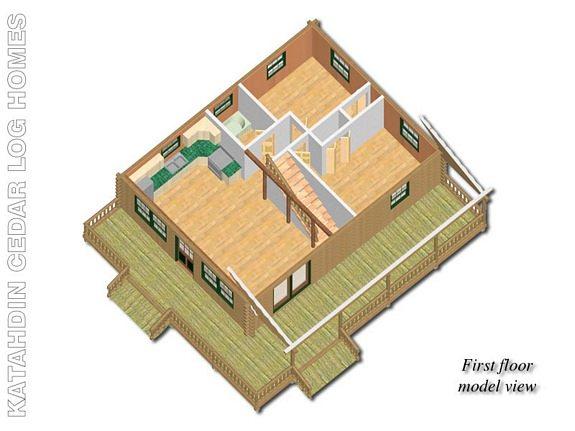 Traveler Katahdin Cedar Log Homes Floor Plans – Cedar Log Home Floor Plans