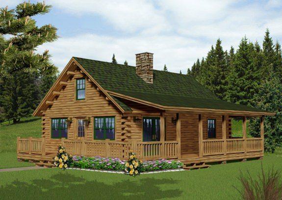 Traveler Katahdin Cedar Log Homes Floor Plans