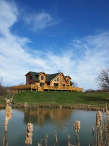 katahdin cedar log home fire mitigation tips