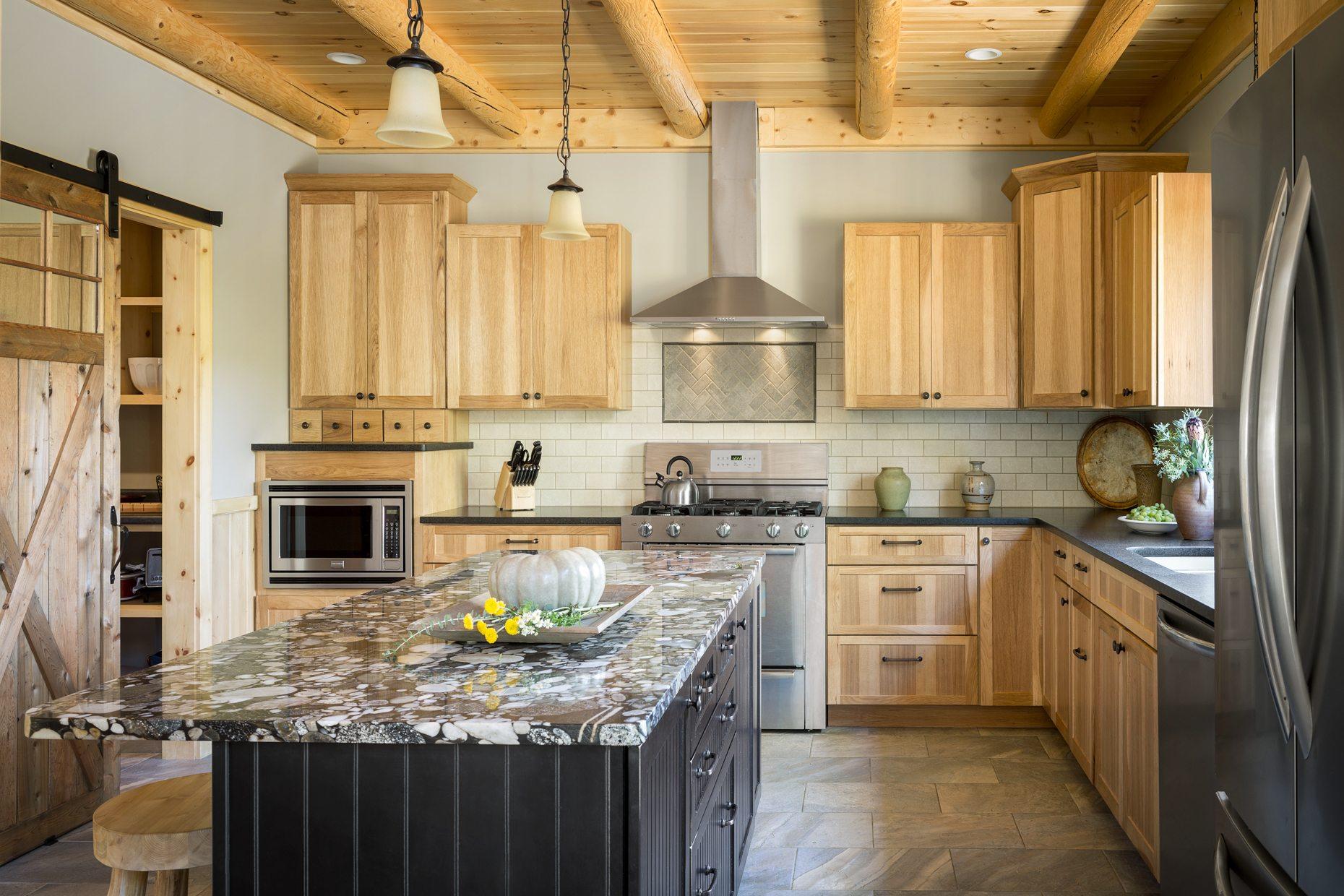 Interior Wall Options Open Up Design Horizons Katahdin Cedar Log Homes