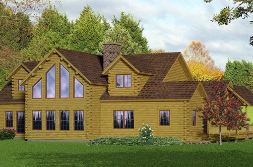 Western Katahdin Cedar Log Homes Floor Plans