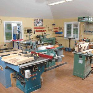 woodshop hobby room
