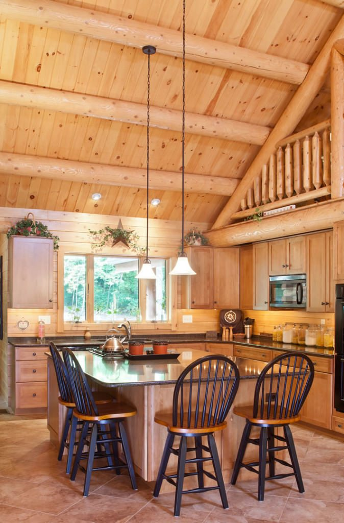 Zerbe 07805 Katahdin Cedar Log Homes