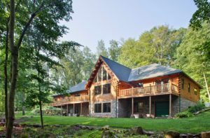 Learn about Katahdin Cedar Log Homes at the May 3-5 Lake George NY show!